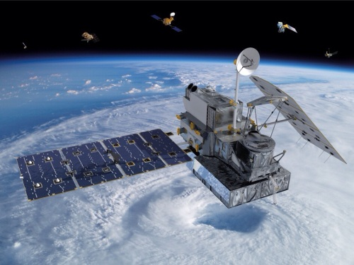 The first new NASA Earth science mission of 2014 is the Global Precipitation Measurement (GPM) Core Observatory, a joint international project with the Japan Aerospace Exploration Agency (JAXA). Launch is scheduled for Feb. 27 from Japan. (Image: NASA)